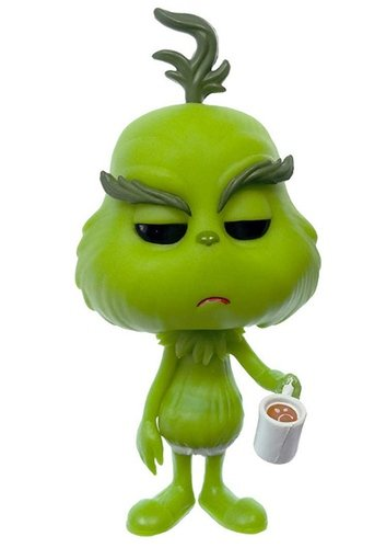 Grinch in Underwear figure by Funko, produced by Funko. Front view.