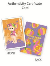 Halloween Pumpkin (Elephant) figure by Dreams Inc., produced by Dreams Inc.. Toy card.
