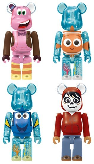 HappyKuji Disney / Pixar BE@RBRICK - Be@rbrick Award 20pcs figure, produced by Medicom Toy. Detail view.