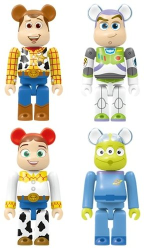 HappyKuji Disney / Pixar BE@RBRICK - Be@rbrick Award 20pcs figure, produced by Medicom Toy. Front view.