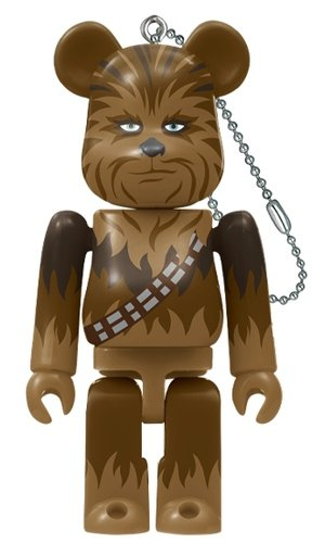 HappyKuji「STAR WARS(TM) SAGA」BE@RBRICK Award BE@RBRICK 100% figure, produced by Medicom Toy. Front view.