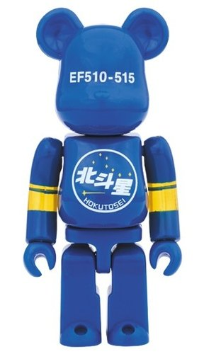 Hokutosei EF510-515 BE@RBRICK figure, produced by Medicom Toy. Front view.