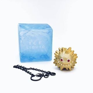 Ice Liquid (gold happy bag 2018) figure by Hiroto Ohkubo (Instinctoy), produced by Instinctoy. Front view.
