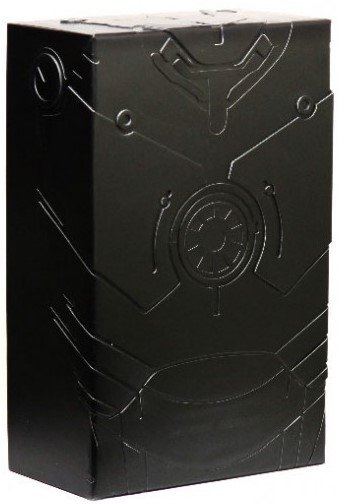 Iron Man Mark III 'TK' Edition figure by Marvel, produced by Hot Toys. Packaging.
