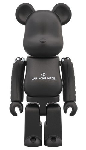 Jam Home Made BE@RBRICK 100% figure, produced by Medicom Toy. Front view.
