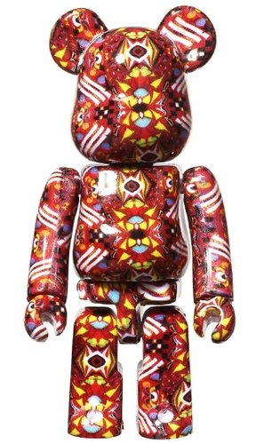 JANTJE_ONTEMBAAR BE@RBRICK 100% figure, produced by Medicom Toy. Front view.