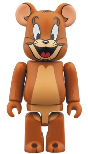 JERRY BE@RBRICK 100% figure, produced by Medicom Toy. Front view.