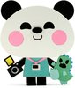 'Jerry' Pandazoku Wooden Toy - ToyCon Exclusive