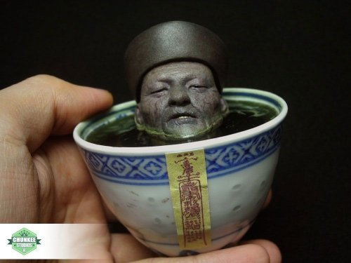 Jiangshi Putrefaction figure by Cheungkinmen, produced by Chunkee Studios. Front view.