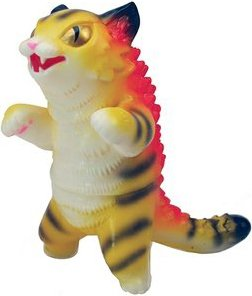 Kaiju Negora - Tiger Stripe figure by Konatsu X Max Toy Co., produced by Max Toy Co.. Front view.