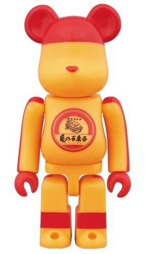 kamenoko tawashi BE@RBRICK 100% figure, produced by Medicom Toy. Front view.