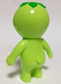 Kappa Kid (Green) かっぱキッド(緑) figure by Koji Harmon (Cometdebris), produced by Cometdebris. Back view.