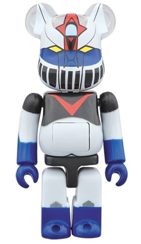 Kattobi - Great Mazinger BE@RBRICK figure, produced by Medicom Toy. Front view.