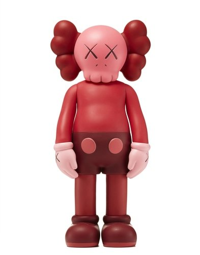 KAWS Companion Blush (Open Edition) figure by Kaws, produced by Medicom. Front view.