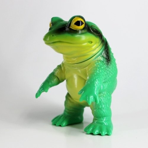 Keronga (ケロンガ) - Tree Frog Phase 2 figure by Noriya Takeyama, produced by Takepico. Front view.