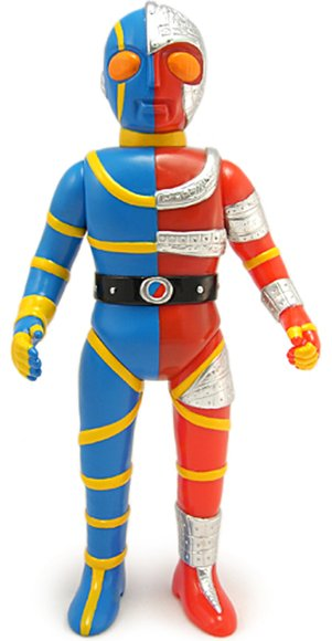 Kikaida/ Kikaider 01 (キカイダー01) figure by Mark Nagata, produced by Max Toy Co.. Front view.
