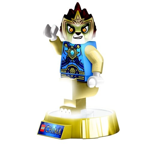 Lego Chima Laval Torch figure, produced by Lego. Front view.