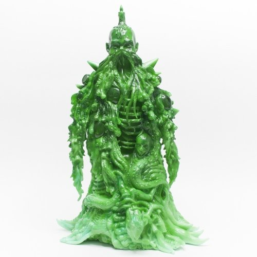 Lolgolth Gnazgoroth - HK Commemorative Jade Edition figure by Skinner, produced by Unbox Industries. Front view.