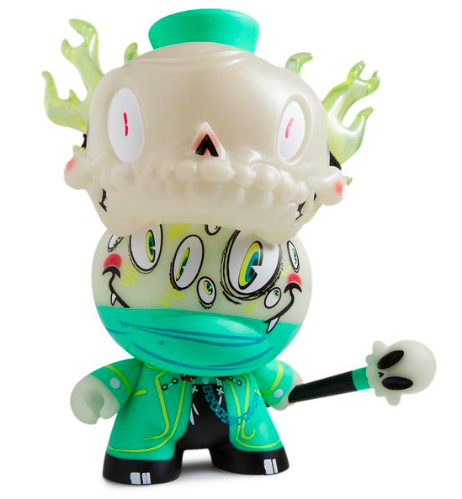 Lord Strange - Kidrobot Exclusive figure by Brandt Peters, produced by Kidrobot. Front view.