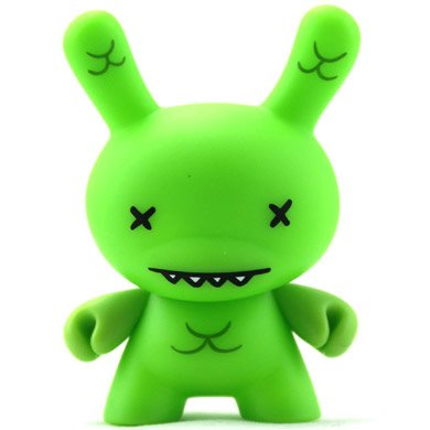 Mabus figure by David Horvath, produced by Kidrobot. Front view.