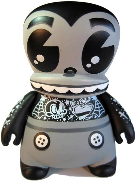 MAD BIC Buddy - Mono figure by Jeremy Madl (Mad), produced by Bic Plastics. Front view.
