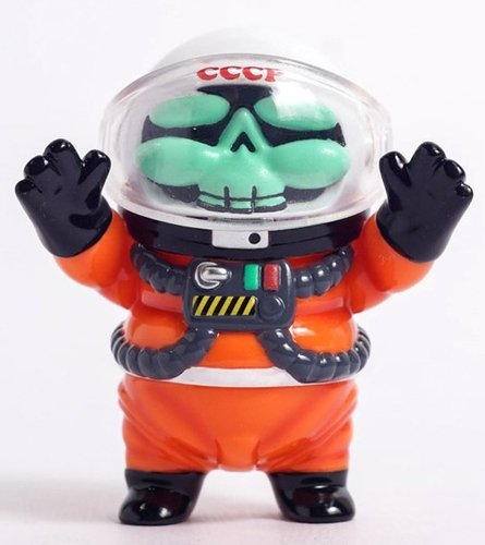 Major Tom figure by Nattapong Atisup, produced by Toyzeroplus. Front view.