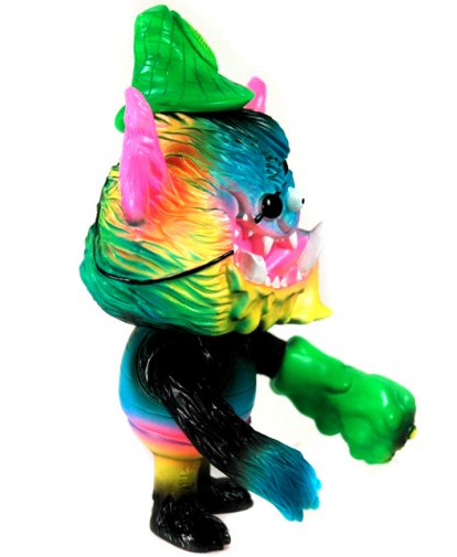 Marty - Painted Edition figure by Bwana Spoons, produced by Toy Art Gallery. Side view.