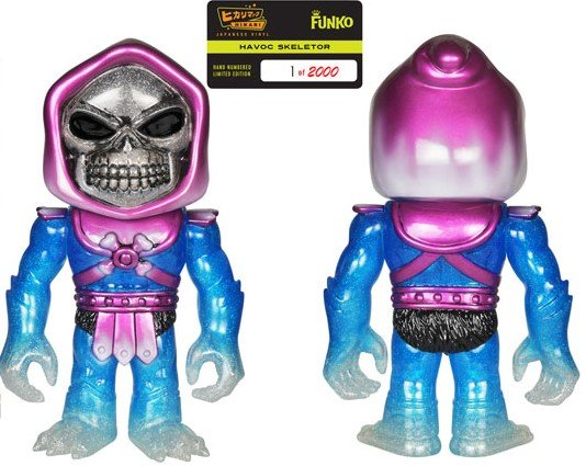 Masters of the Universe - Havoc Skeletor Hikari figure by Funko, produced by Funko. Back view.