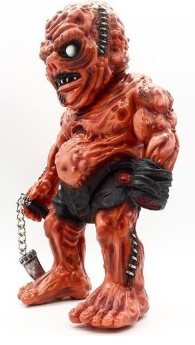 Meats Agony figure by Aaron Moreno, produced by Unbox Industries. Front view.