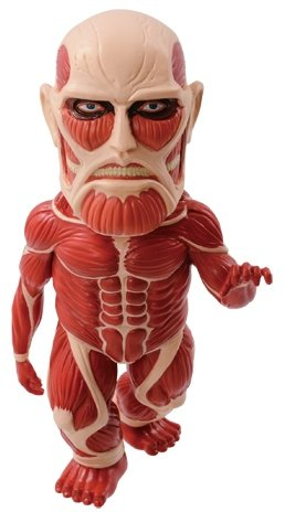 MEGA WCF ATTACK ON TITAN VOL.1 MG01 figure, produced by Banpresto. Front view.