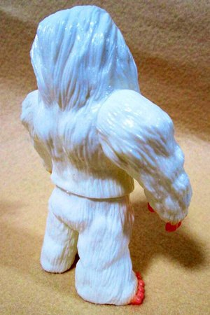 Abominable Snowman Demon of the Himalayas figure, produced by Iwa Japan. Back view.