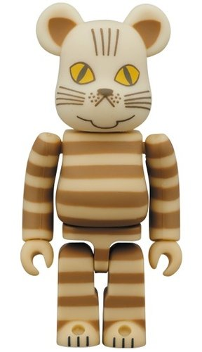 MIA BE@RBRICK 100% figure, produced by Medicom Toy. Front view.