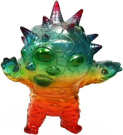 Mini Eyezon - In Living Kolor figure by Mark Nagata, produced by Max Toy Co.. Front view.