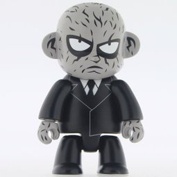 Mister K figure by Run, produced by Toy2R. Front view.