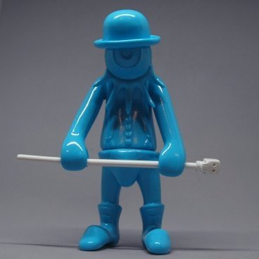 NADSAT BOY LE MANS BLUE figure by Kenth Toy Works, produced by Toy Art Gallery. Front view.