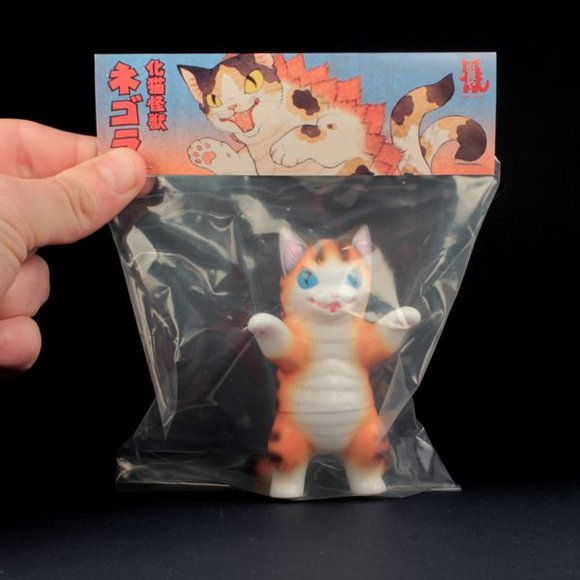 Negora (ネゴラ) Brown Stripe figure by Konatsu, produced by Konatsuya. Packaging.