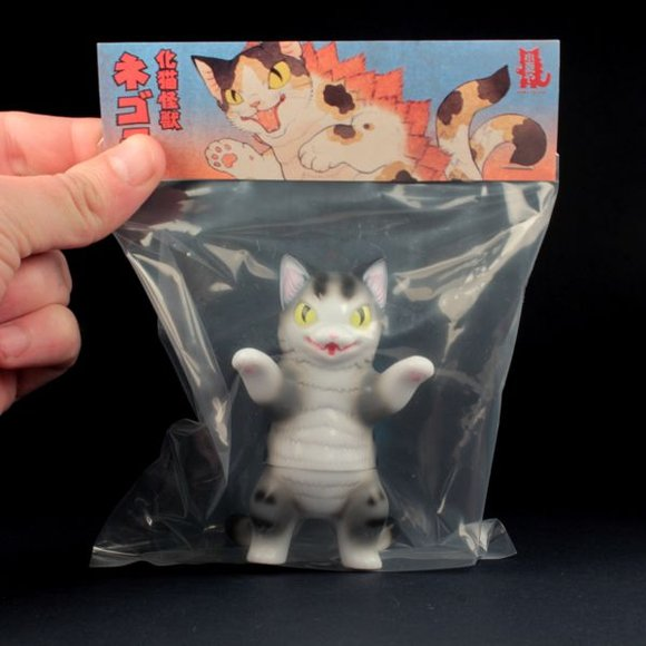 Negora (ネゴラ) Grey Stripe figure by Konatsu, produced by Konatsuya. Packaging.
