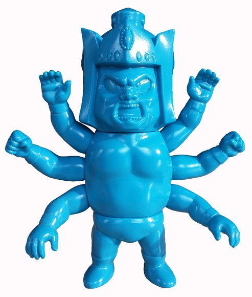 NSC-CH Ashuraman Childhood Keshigomu figure, produced by Five Star Toy X Convict Toy. Front view.