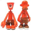NY Fat Crylon & Tattoo Orange Set