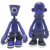 NY Fat Crylon & Tattoo Purple Set