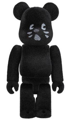 nya FLOCKY Ver. BE@RBRICK 100% figure, produced by Medicom Toy. Front view.