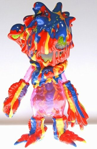 O-1000 Boogie Man - Underground Fireworks  (地下花火) figure by Cure, produced by Cure. Front view.