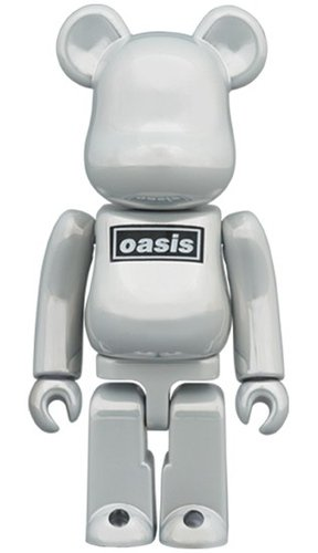 OASIS BE@RBRICK 100% figure, produced by Medicom Toy. Front view.