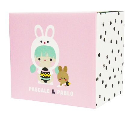 Pascale & Pablo figure by Momiji, produced by Momiji. Packaging.