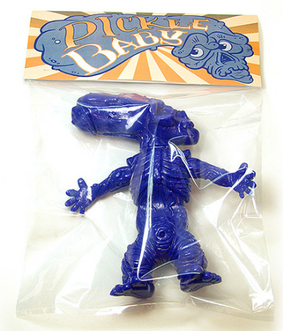 PickleBaby - SDCC 2013 figure by Leecifer, produced by Dragatomi. Packaging.