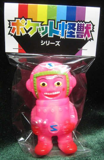 Pocket S-Taiin (S隊員) figure by Butanohana, produced by Gargamel. Packaging.