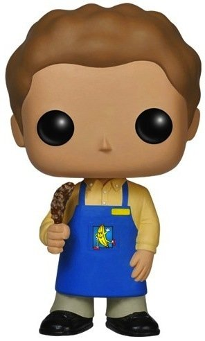 POP! Arrested Development - George-Michael Bluth figure by Funko, produced by Funko. Front view.