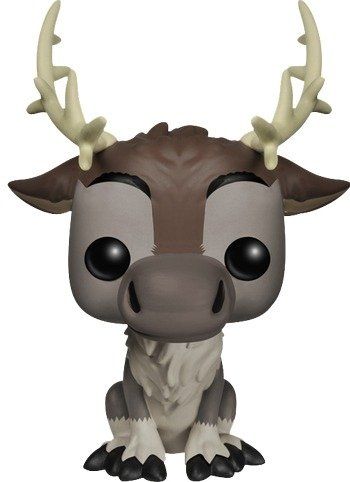 POP! Frozen - Sven figure by Disney, produced by Funko. Front view.