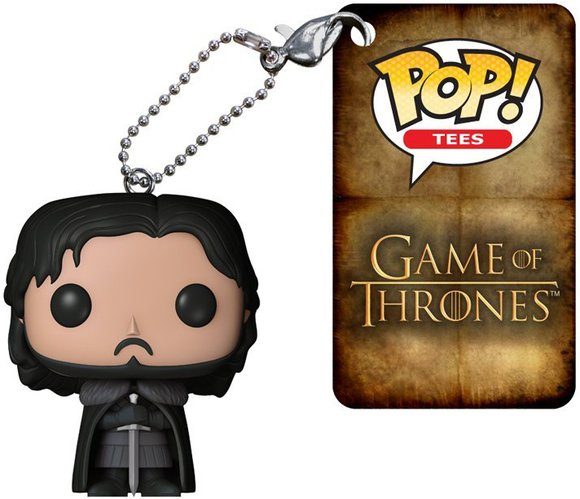 POP! Game of Thrones - Jon Snow Beyond The Wall figure by George R. R. Martin, produced by Funko. Detail view.