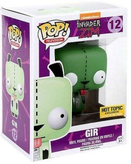 POP! Invader Zim - GID Gir figure, produced by Funko. Packaging.